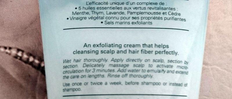 L'Occitane revitalizing fresh cleansing scrub