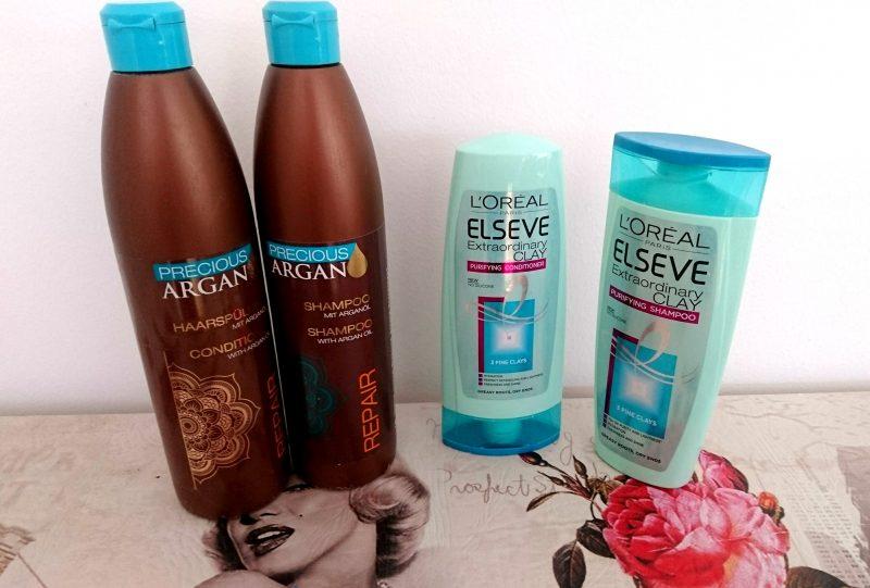 empties shampoo loreal elseve