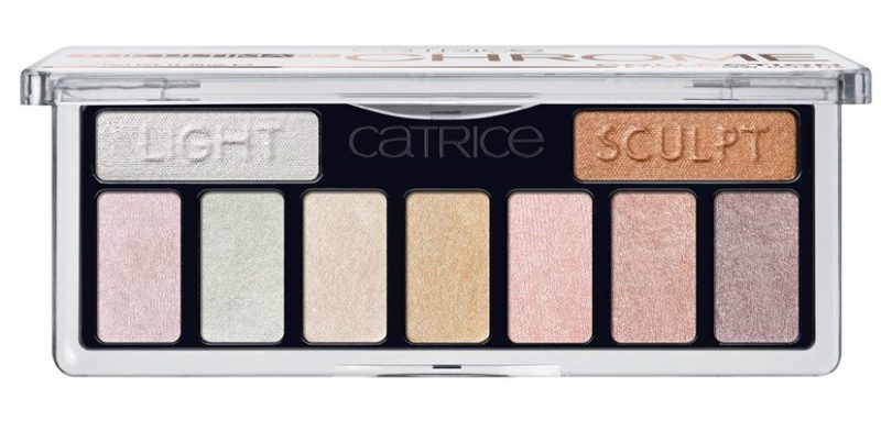 Catrice fall winter 2017 Catrice precious chrome palette