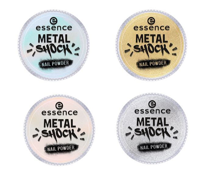 Essence fall winter 2017 Metal Shock Nail Powder