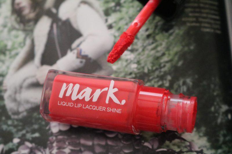 Avon Mark Liquid Lip Lacquer Lacquered up shine