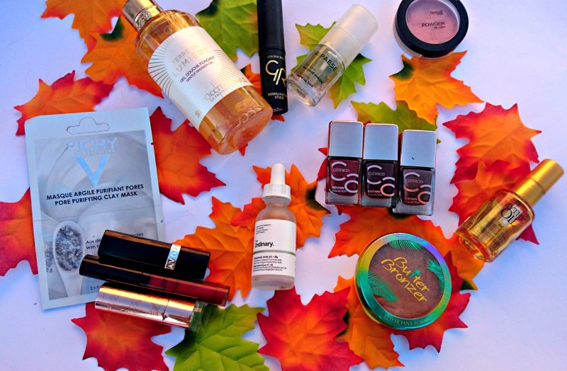 Top autumn beauty products