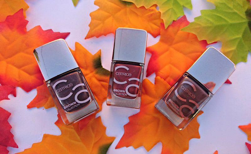 Catrice Brown Collection autumn beauty products
