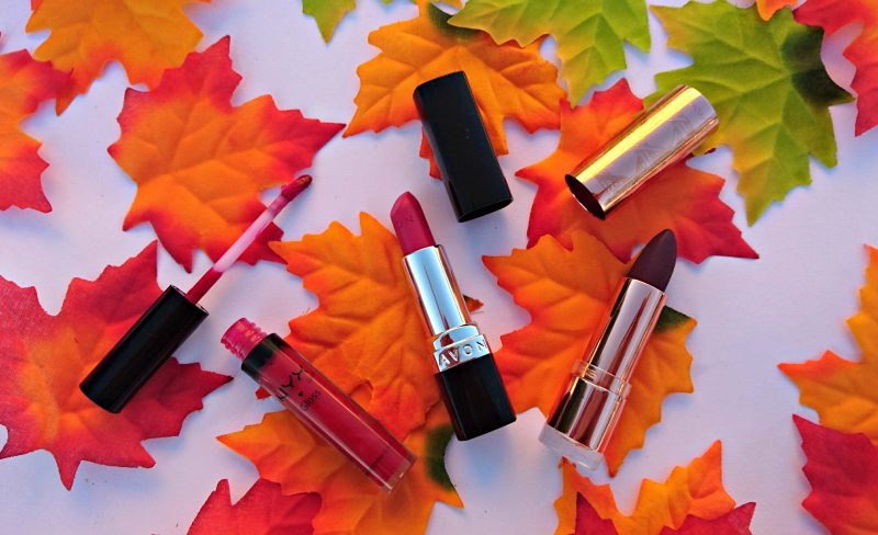 autumn beauty products autumn lipstick colors