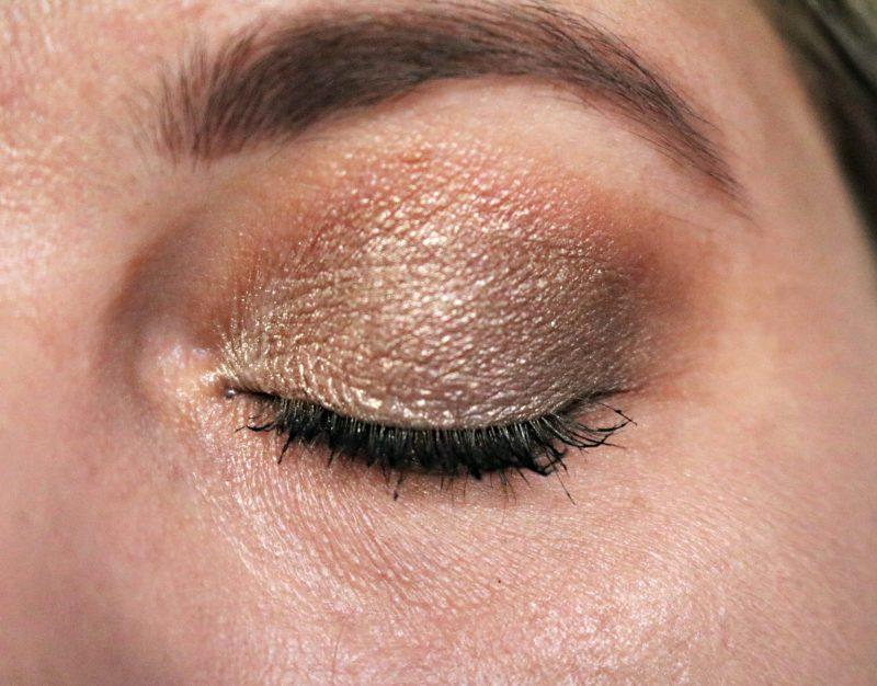 L.O.V. Devoted to metallics eyeshadow look