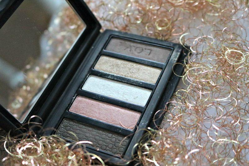 LOV cosmetics devoted to metallics open palette