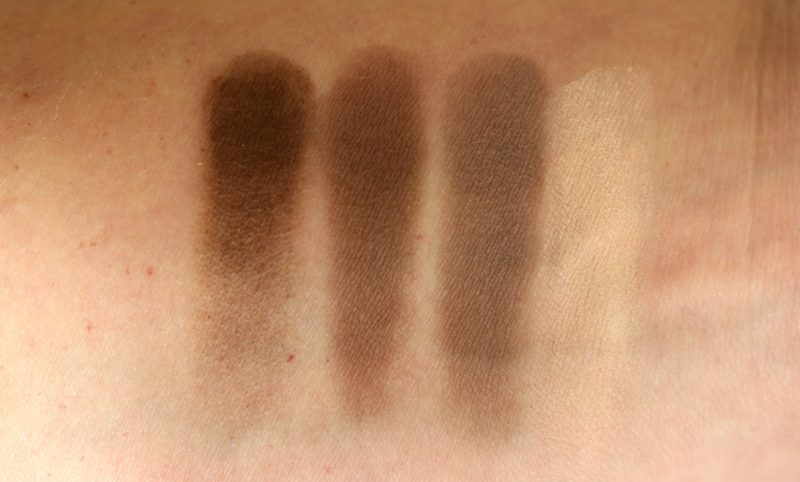 Max Factor Brow Contouring kit swatches
