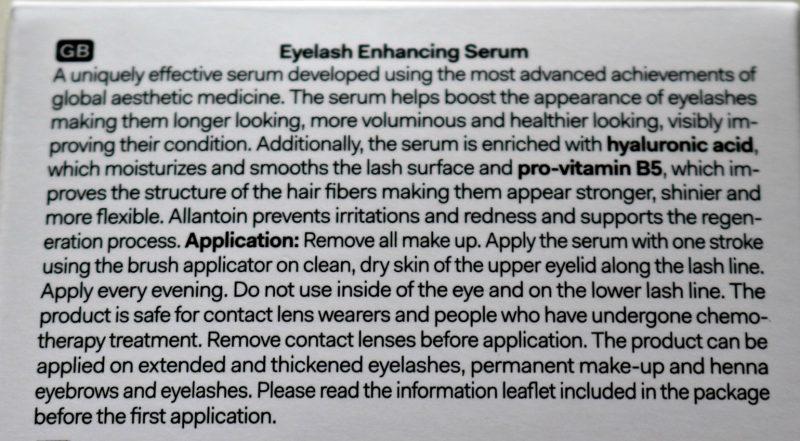 long4lashes eyelash serum igredients