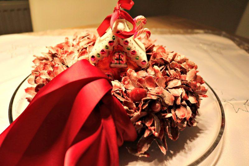 Christmas home decoration centerpiece