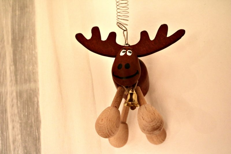 Christmas home decoration reindeer