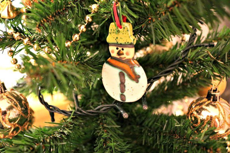 Christmas home decoration snowman