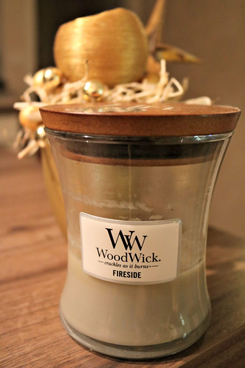 Christmas home decoration Woodwick