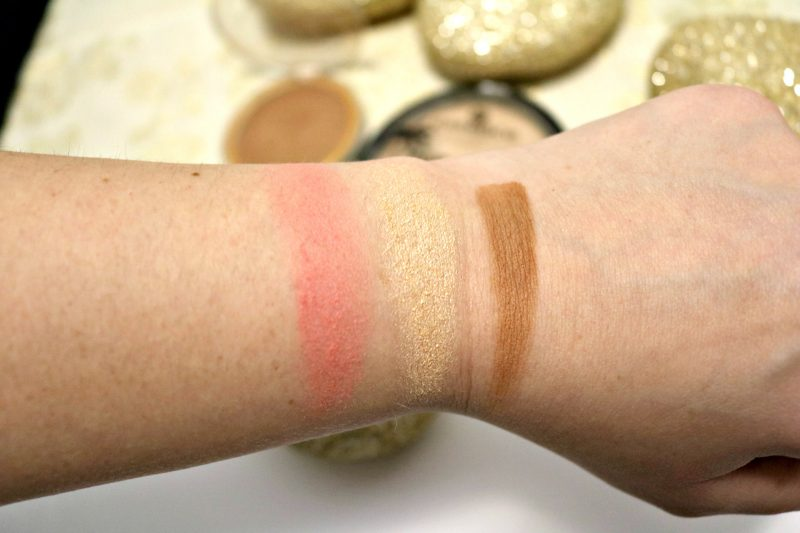 best make-up 2017 contouring swatches