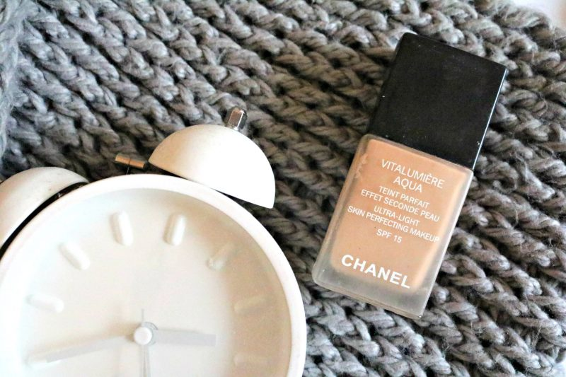 Project pan 2018 Chanel Vitalumiere aqua foundation