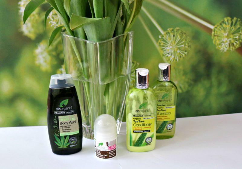 Dr. Organic Slovenija šampon balzam deodorant gel za prhanje