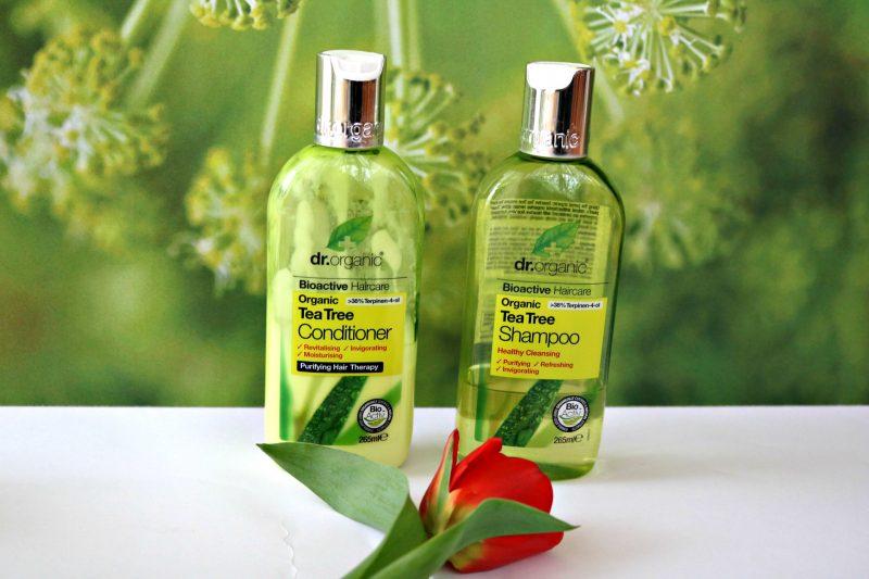 Dr. Organic Slovenija šampon balzam z bio čajevcem