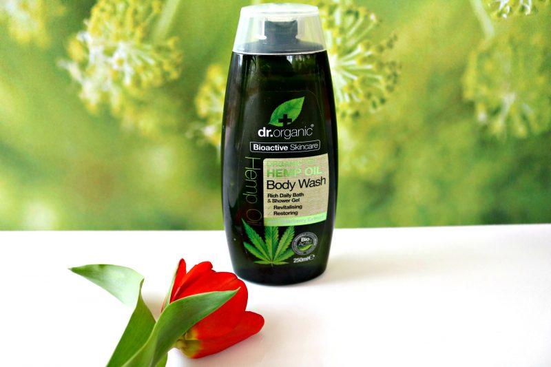 Dr. Organic Slovenija gel za prhanje s konopljinim oljem