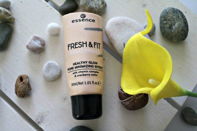 Porabljeni lepotni izdelki Essence Fresh&Fit primer
