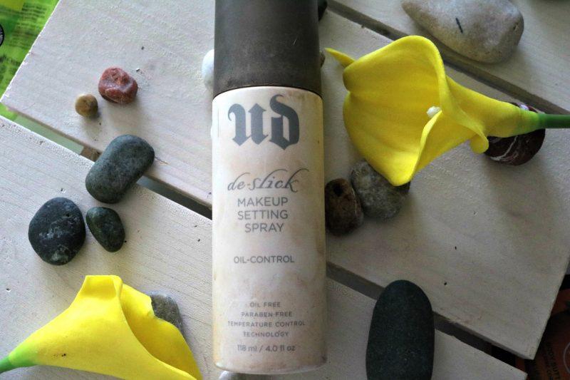 Porabljeni lepotni izdelki UD De-slick setting spray