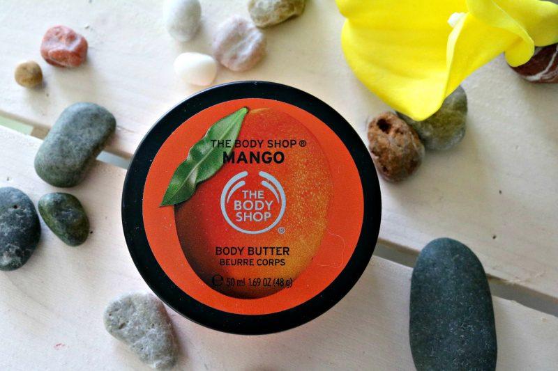Porabljeni lepotni izdelki The Body Shop maslo za telo