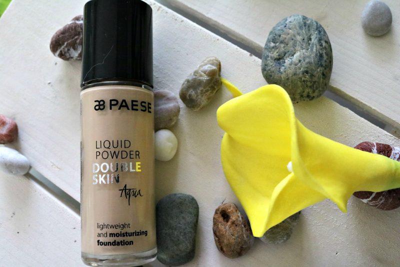 Porabljeni lepotni izdelki Paese Double aqua tekoča podlaga