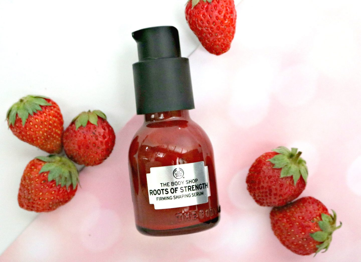 The Body Shop Roots of Strength serum