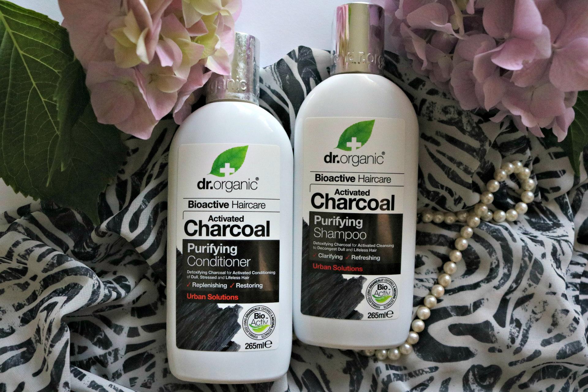 Dr. Organic linija z aktivnim ogljem šampon balzam