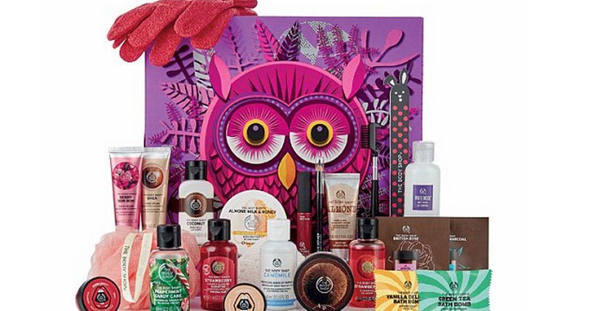 lepotni adventni koledarji 2018 The Body Shop Olivia